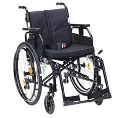 """Picture of 18"""" SD2 Wheelchair Self Propel (Black)"""