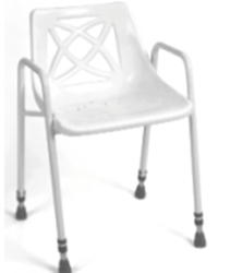 Picture of Foxton Stationary Shower Chair - Stackable & Fixed Height  **