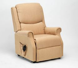 Picture of Indiana Riser Recliner - Biscuit