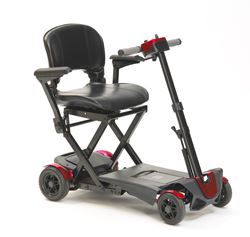 Picture of 4-Wheel Auto Folding Scooter - Red