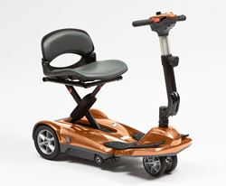 Picture of Dual Wheel Auto Fold Scooter - Copper