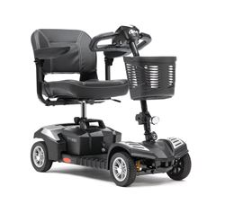 Picture of Scout Explorer Scooter with Suspension & Upgraded Seat - Silver