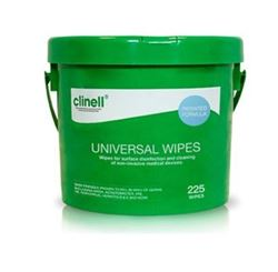 Picture of Clinell Universal Sanitising Wipes Bucket (225)