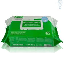 Picture of Clinell Universal Sanitising Wipes 22cm x 28cm (200)