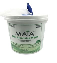 Picture of MAIA Skin Cleansing Wipes in Bucket (150/Bucket)